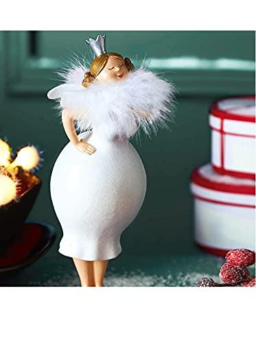 Pureday Deko-Figur Engel Lola - Kunstharz - ca. H25cm