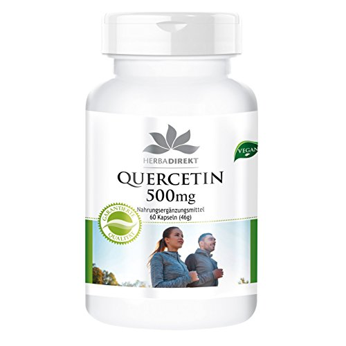 Quercetin 500mg - 60 capsules - hoge dosis