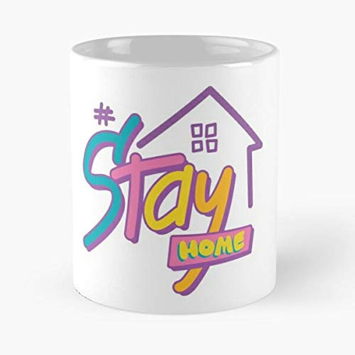 Stayhome - Stay Home Tiktok Classic Mug Funny Gift Coffee Tea Cup White 11 Oz The Best Gift For Holidays Situen.