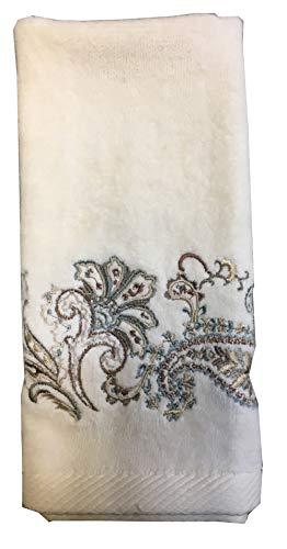 Croscill Home Hand Towel Cipresi Ivory