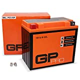 GP-PRO GB16-B - Batería de arranque para motos, 12V, 17Ah, parecido a YB16-B / 51912, sin necesidad de mantenimiento, para Harley Davidson
