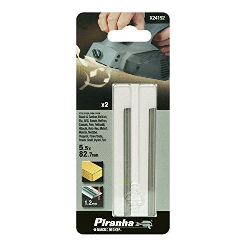 Piranha X24192 Hobelmesser, HSS, 2 Stück, KW715