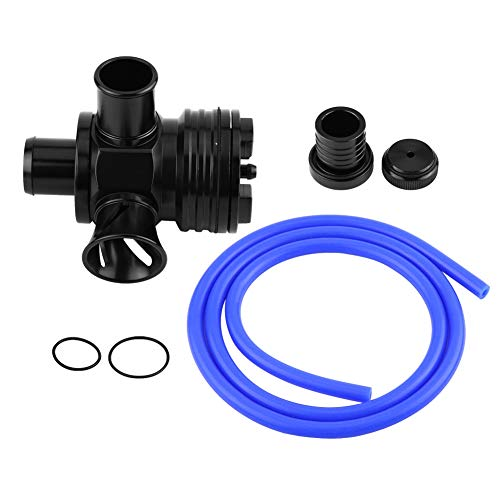 Válvula de descarga Turbo BOV del desviador automático del coche para 1.8T 2.7T Engine Black