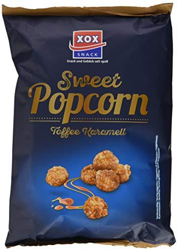 XOX Gourmet Popcorn Toffee Karamell, 12er Pack (12 x 125 g)