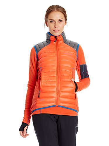Trangoworld Gilet Guateado Trx2 800 Wm Orange/Anthracite L