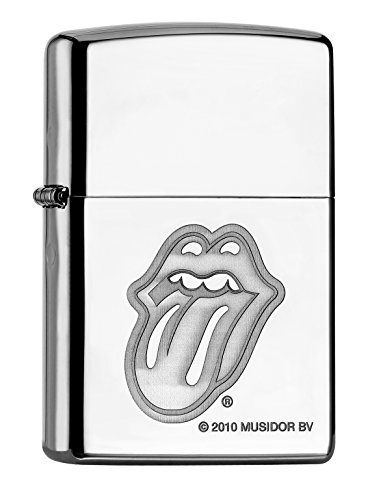 Zippo PL Rolling Stones Tongue 60000871 Feuerzeug, Messing