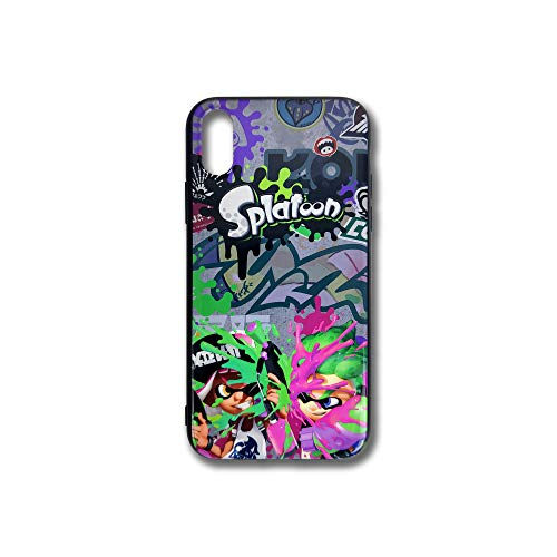 LEWJ Splatoon Phone Case Compatible with iPhone Xs