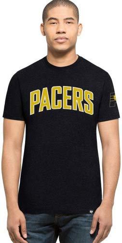 '47Brand Indiana Pacers Script NBA Camiseta, color azul, negro