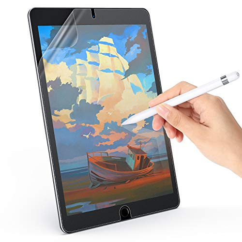 Paper Feel Screen Protector Compatible with 7th Gen iPad 10.2/ Pro 10.5(2017 & 2019),iPad Air 3, Write Like on Paper, Anti-Glare Matte Screen Film -10.2/10.5inch