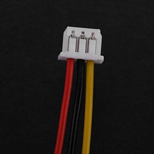 FTVOGUE JST-hoekconnector 1.25 mm 2-pins / 3-pins met kabel mannelijke en vrouwelijke connector connector stekker