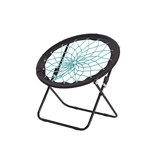 CampLand Bungee Dish Chair Bunjo Game Chair Folding Camping Relax Chair