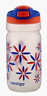 Contigo 50912 Squeeze Autospout Water Bottle, Tango Flower