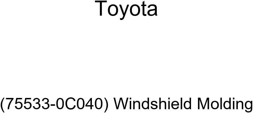 Genuine Gifts Toyota Brand new 75533-0C040 Molding Windshield