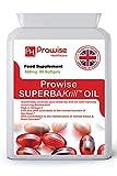 Superba Krill Oil 500mg 60 Softgels - 1000mg por porción - Krill rojo de origen antártico puro de alto grado que proporciona una rica fuente de Omega- Reino Unido Hecho por Prowise Healthcare