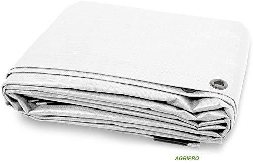 agripro Bâche PVC bâche Protection imperméable Extérieur Blanc Multi-usages Ultra MT 3 X 3