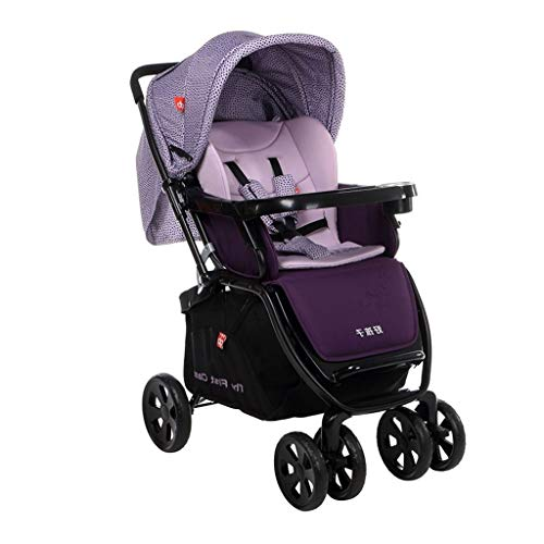 Great Deal! Baby Stroller Baby Can Sit Lie in Summer Full Awning Sunshade Easy Folding Baby Stroller...