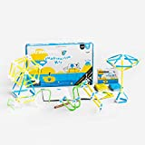 Strawbees Imagination Kit STEM Building Set, 400 Pieces and 105 Challenge Cards