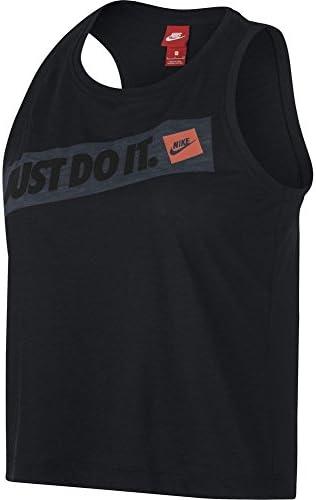 Nike Sportswear Camiseta Tirantes Color Negro para Mujer