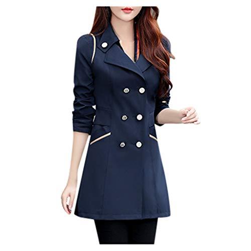 Minikimi Damesjas, elegante wol, trenchcoat, twee rijen, stijlvolle warme winterjas, goedkoop outdoorjas, oversized lang, winterparka, jas, outwear, 10 kleuren