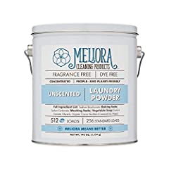 CONCENTRATED: All it takes is 1/2 tablespoon per high efficiency (HE) load - or 1 tablespoon per standard load - of laundry. This compact, recyclable, reusable steel canister of Laundry Powder replaces that unsightly plastic jug - and looks great, to...