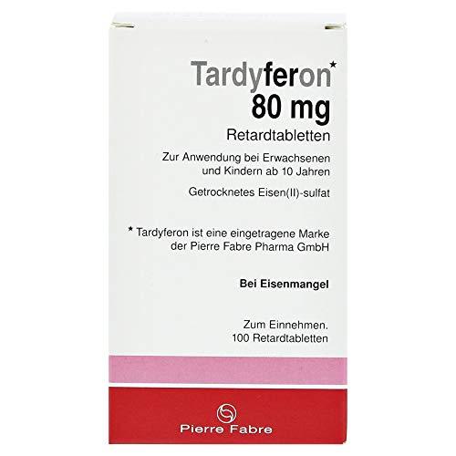 Tardyferon Depot-Eisen(II)-sulfat 80mg Retard-Tabletten 100 Stück