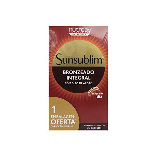Nutreov Sunsublim Bronzage Intégral Huile d'Argan Lot de 3 x 30 capsules