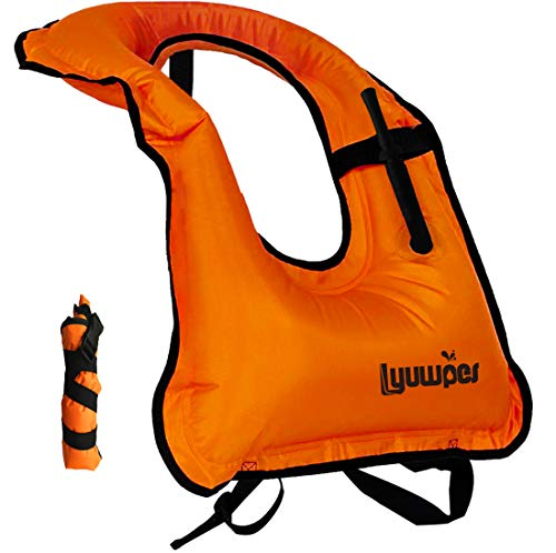 Horse Collar Over The Neck Style Snorkeling Vest