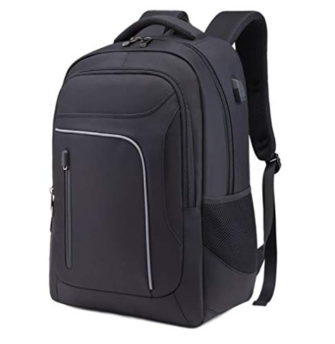 Laptop-Rucksack, Unisex, Schwarz
