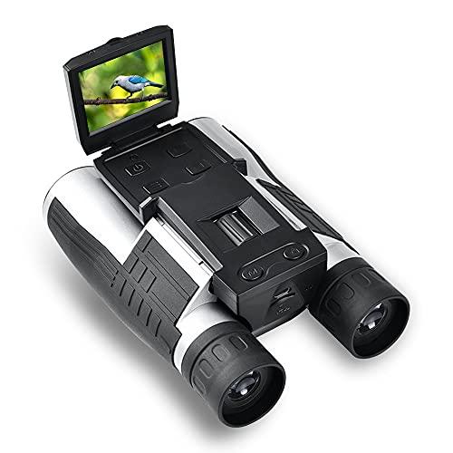 "12X32 Binoculars Digital Camera USB HD Video DVR Recorder 2"" LCD Display Screen 5MP CMOS Photo Zoom Telescope for Tourism Hunting, watching Bird Football Game Concert"