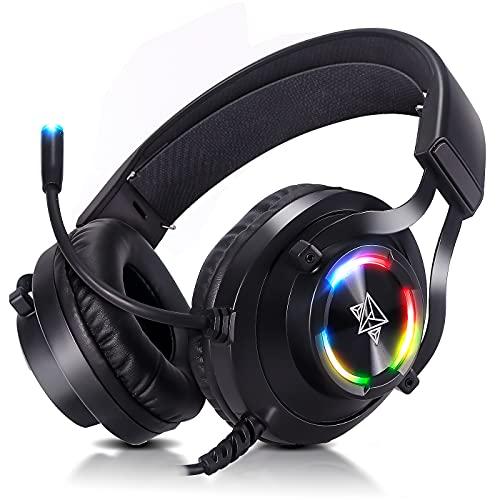 Headset gamer fone de ouvido usb com microfone Adamantiun Hiperion V2 pc ps4 ps5 ps3 notebook com adaptador type c celular