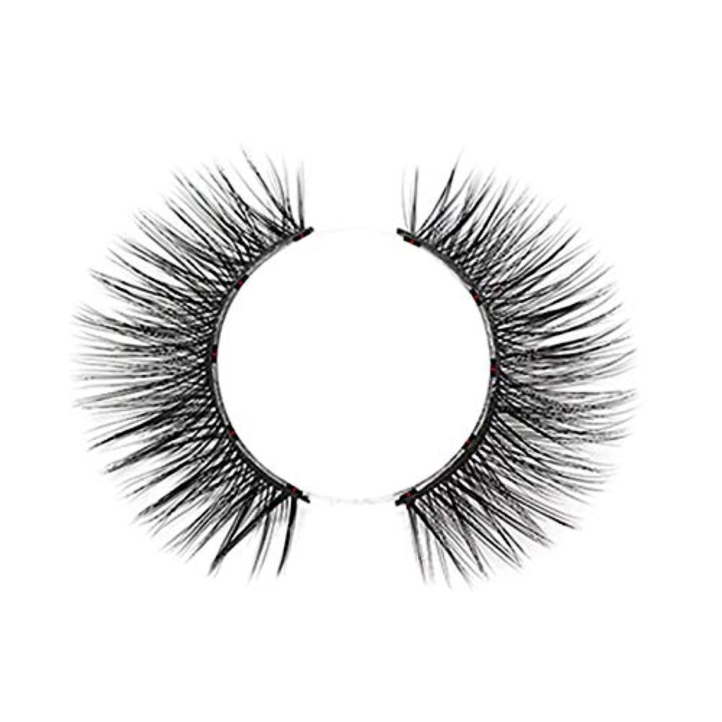 不定火すべきTOOGOO 1セット磁気つけまつげ 防水防汚性手作り 着やすい まつげ女性の化粧まつ毛 ダイヤモンド