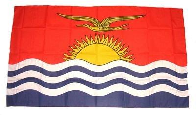 Fahne / Stockflagge Kiribati 30 x 45 cm Flagge