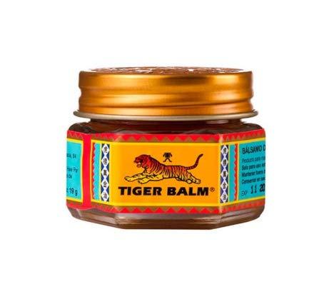 QLQ Ungüento 100% Original de bálsamo de Tigre Rojo Ungüento de analgésico de Tailandia Ungüento para aliviar el Dolor Muscular Calmar la picazón (19.5g),Rojo