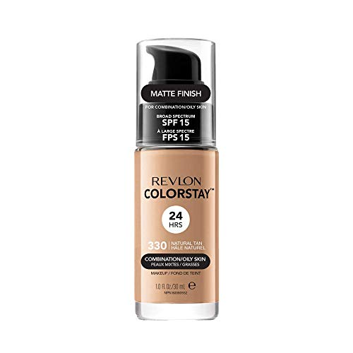 Revlon ColorStay Base de Maquillaje piel mixto/graso FPS15 (#330 Natural Tan) 30ml