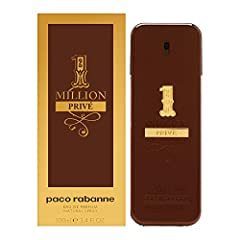 1 Million Prive by Paco Rabanne for Men 3.4 oz EDP Spray: Buy Paco Rabanne Colognes - A supremely facetted and harmonious fragrance with a high impact signature. A flamboyant, fresh, spicy leather, and audacious fragrance.Details provided by Paco Rab...