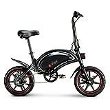 LENTIA Vélo Électrique Pliant vélo de Ville électrique 10 Ah Batterie Lithium Rechargeable 50 Kilométrage 14' City E-Bike Adulte Pliant Vitesse jusqu'à 25 km/h CE & SGS D3F