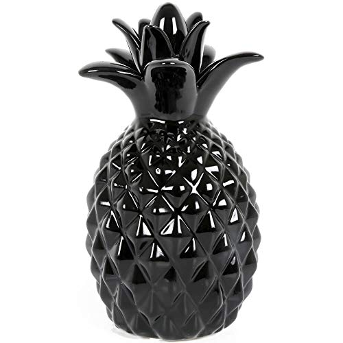 Sifcon International Pineapple Ornament Black