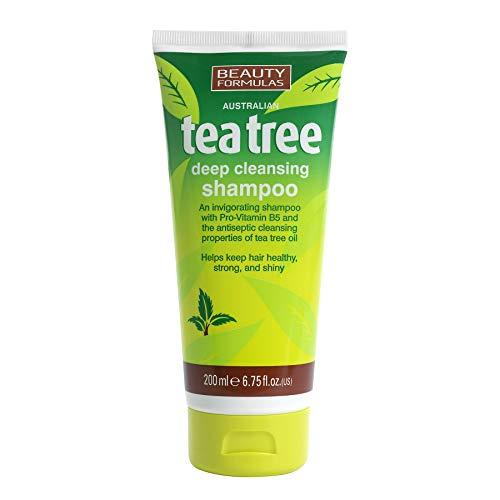 formules de beauté Arbre à thé Shampooing purifiant 200 ml