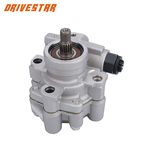 DRIVESTAR 21-5129 Power Steering Pump for 1998-2000 Chevy Prizm 1.8L, 1998-2000 Toyota Corolla 1.8L, OE-Quality New Power Steering Pump 1998 1999 2000 Prizm 1.8, 1998 1999 2000 Corolla 1.8