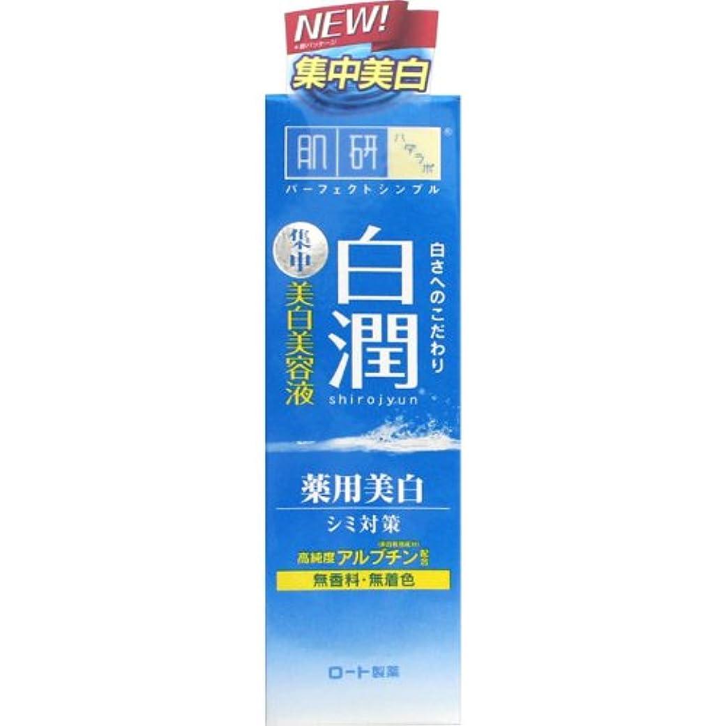 したがって検査実際の【医薬部外品】肌研(ハダラボ) 白潤 薬用美白美容液 30g