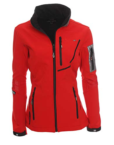 Geographical Norway Damen Fleecejacke Trophy XL rot - rot