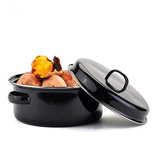 XINGJIJIJIA Sicherheit 24m Grill Pfannen Süßkartoffeln Corn Bräter Smokeless Barbecue Grill Reinigung (Sheet Size : 24cm)