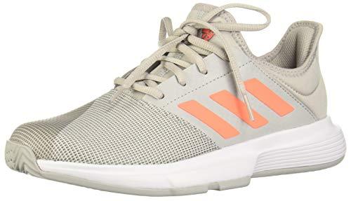 Adidas GameCourt W, Zapatos de Tenis Mujer, Grey Two F17/SIGNAL Coral/Grey Three...