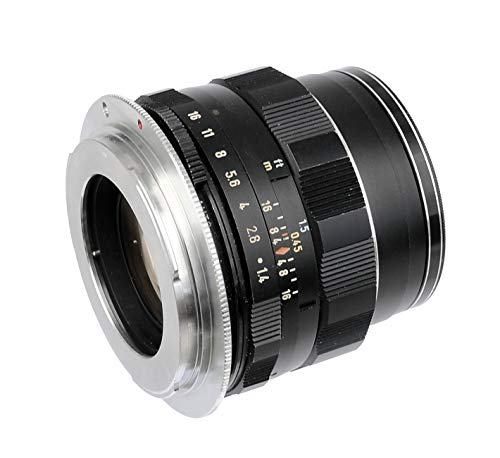 Fotasy Copper M42 Lens to Canon Adapter, M42 EF Adapter,M42 EF-S, Infinity Focus,Fits Canon DSLR 6D 5D Mark IV III II 1Ds 1D 7D II 7D 90D 80D 77D 70D 60D 50D 1300D 1200D 1100D 1000D 760D 750D 700D