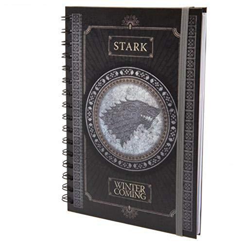Game Of Thrones - Cuaderno A5 Espiral Stark
