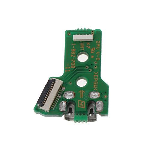 Reemplaza el puerto de carga USB para la placa base GDS del cargador controlador de PS4 JDS-050 JDS 055.