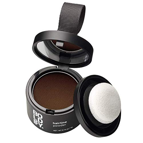 BOLDIFY Hairline Powder (Medium Brown) Instantly Conceals Hair Loss and...