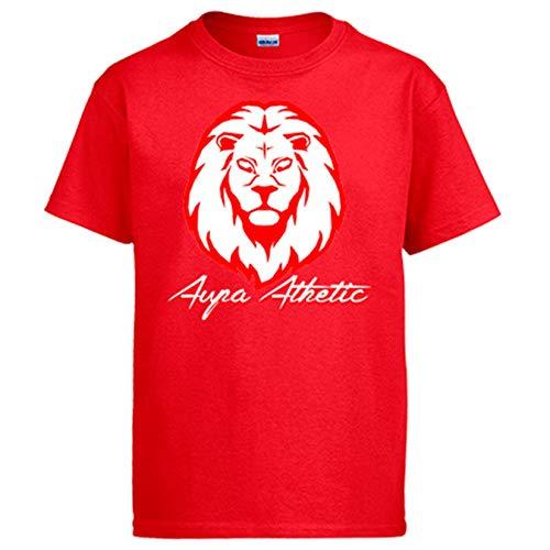 Diver Bebé Camiseta ilustración Silueta del león del Athletic - Rojo, XXL