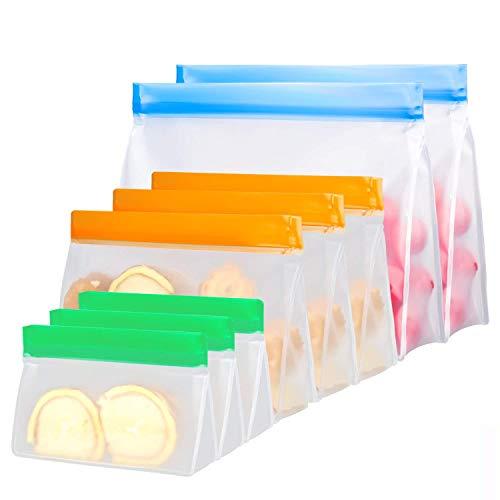 Bolsa de Almacenamiento de Alimentos Reutilizable, 8 Piezas