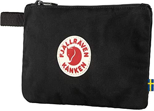 Fjällräven Unisex-Adult Kånken Gear Pocket Sports Backpack, Black, One Size